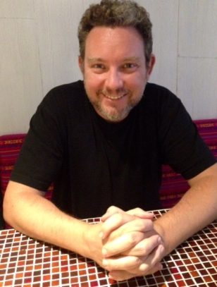 Albert Adria, The World's Best Pastry Chef at Hoja Santa in Barcelona. Photograph by Corinna Hardgrave, foodwriter.